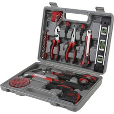 Genuine Joe 42 Piece Tool Kit with Case - Gray