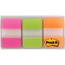 MMM 686PGOT 3M Post-it Durable Filing Tabs w/Dispenser MMM686PGOT