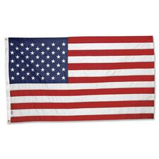 """CF Flag 3'x5' United States Flag - United States - 60\"""" x 36\"""" - UV Resistant, Weather Resistant, Lightweight - Nylon, Fabric - Red, White, Blue"""