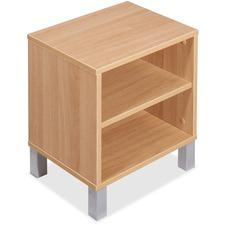 LLR 81931 Lorell Concordia Series Latte Upper Desk Cabinet LLR81931