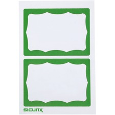 BAU67646 - SICURIX Self-adhesive Visitor Badge