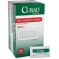 MII CUR001209Z Medline Curad Triple Antibiotic Ointment Packets MIICUR001209Z