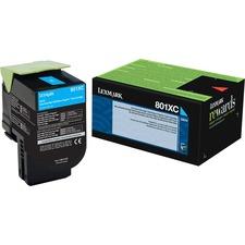 LEX80C1XC0 - Lexmark Unison 801XC Toner Cartridge