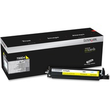 Lexmark 700D4 Yellow Developer Unit