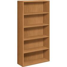 HON 10755CC HON 10700 Srs Harvest Fixed Shelf Wood Bookcases HON10755CC