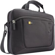 "Case Logic Carrying Case for 14.1"" Notebook, iPad - Anthracite"