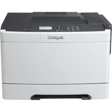 Lexmark CS410DN Laser Printer - Color - 2400 x 600 dpi Print - Plain Paper Print - Desktop - TAA Compliant