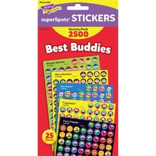 TEP T46919 Trend Best Buddies Super Spots Stickers TEPT46919
