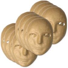 CKC 419012 Chenille Kraft Paper Mache Masks CKC419012