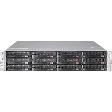 Supermicro SuperServer 6027R-E1R12T Barebone System - 2U Rack-mountable - Intel C602 Chipset - Socket R LGA-2011 - 2 x Processor Support - Black