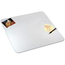 "Artistic Eco-Clear Microban Desk Pads - 24"" Width - Polypropylene"