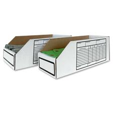 """Crownhill Storage Bin - External Dimensions: 6"""" Width x 18"""" Depth x 4"""" Height - For Spare Part - 25 / Pack"""