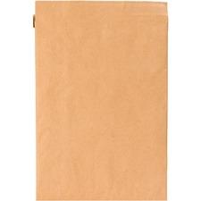 "Sealed Air Jiffy Padded Brown Kraft Mailers - Padded - 4"" Width x 8"" Length - Gummed - Kraft, Satin, Paper - 1 Each - Brown, Gold"