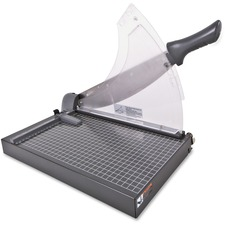 Swingline Guillotine Trimmer - 40 Sheet Cutting Capacity - Heavy Duty, Self-sharpening, Automatic Paper Clamp, Ruler - Steel, Steel - 1 Each