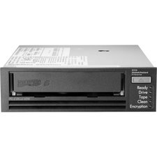 """HPE StoreEver LTO-6 Ultrium 6250 Internal Tape Drive - LTO-6 - 2.50 TB (Native)/6.25 TB (Compressed) - SAS - 5.25"""" (133.35 mm) Width - 1H Height - Internal - 168.94 MB/s Native - 422.34 MB/s Compressed - Linear Serpentine - Encryption - WORM Support"""