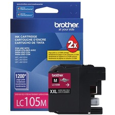 Brother Innobella LC105MS Original Ink Cartridge - Magenta - Inkjet - Super High Yield - 1200 Pages - 1 Each