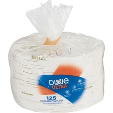DXE SXP6WSPK Dixie Foods Pathways Heavywt Small Paper Plates DXESXP6WSPK