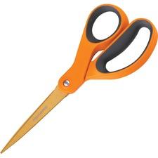 """FSK 01004244J Fiskars Ergonomic Handles 8"""" Titanium Scissors FSK01004244J"""