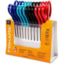FSK 95017197J Fiskars Blunt Tip Class Pack Scissors FSK95017197J