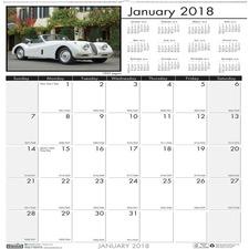 HOD 3771 Doolittle Earthscapes Classic Cars Wall Calendar HOD3771