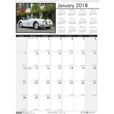 HOD 3772 Doolittle Earthscapes Classic Cars Wall Calendar HOD3772