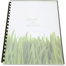 GBC 25817 GBC Poly Unpunched Binding Covers GBC25817