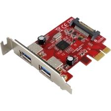 Visiontek USB 3.0 PCIe Expansion Card 2-port