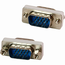 4XEM VGA HD15 Male To Male Gender Changer Adapter