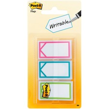 "MMM 682ARROW 3M Post-it Assorted Colors 1"" Writable Flags MMM682ARROW"
