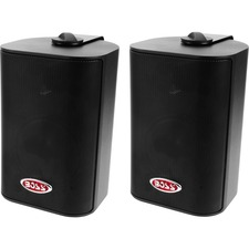 "BOSS AUDIO MR4.3B Marine Enclosed System 4"" 3-way 200-watt Enclosed System Speakers"