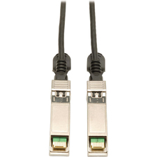 Tripp Lite SFP+ 10Gbase-CU Passive Twinax Copper Cable, Black 0.5M (20-in.)