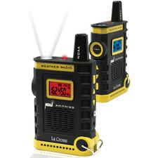 La Crosse Technology Handheld AM/FM/Weather Band NOAA Weather Radio