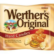 Werther's Original Storck Hard Candies - Caramel - 255.1 g - 1 Bag