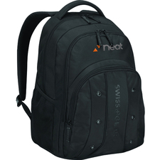 "Wenger UPLOAD Carrying Case (Backpack) for 16"" Notebook - Black"