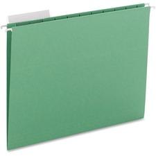 SMD 64022 Smead Adjustable Tab Colored Hanging Folders SMD64022
