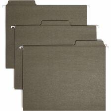 SMD 64037 Smead FasTab Standard Green Hanging Folders SMD64037