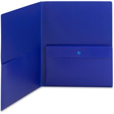 SMD 87701 Smead Poly 2-pocket Presentation Folder SMD87701