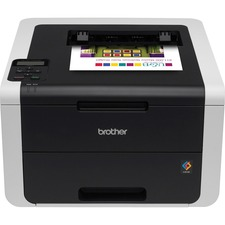 Brother HL-3170CDW LED Printer - Color - 2400 x 600 dpi Print - Plain Paper Print - Desktop - 23 ppm Mono / 23 ppm Color Print - Letter A, Legal, Executive, A4, A5, B5, A6, B6 - 250 sheets Standard Input Capacity - 30000 Duty Cycle - Automatic Duplex Prin