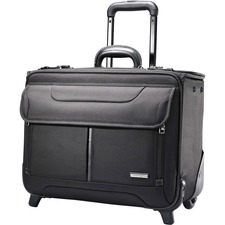 SML 458311041 Samsonite Retractable Handle Wheeled Catalog Case SML458311041