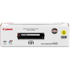 Canon 131 Original Toner Cartridge - Laser - 1500 Pages - Yellow - 1 Each