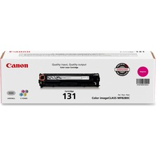 Canon 131 Original Toner Cartridge - Laser - 1500 Pages - Magenta - 1 Each