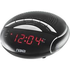 Naxa NRC-170 Desktop Clock Radio - Mono