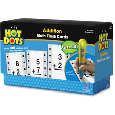 Hot Dots Hot Dots Addtn Facts Flash Cards