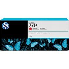 HP 771A (B6Y16A) Original Ink Cartridge - Single Pack - Inkjet - Red - 1 Each