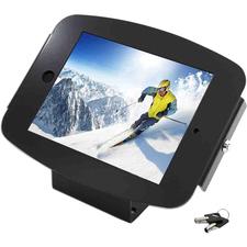 "MacLocks Introducing ""Space"" - The new iPad Enclosure Kiosk - Secures iPad 2,3,4 - Black"