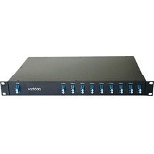 AddOn 8 Channel DWDM MUX/DEMUX 19inch Rack Mount with LC connector and Express Port
