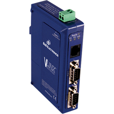B&B VLINX, 2PORT, DB9, ESS, DIN, CU ETHERNET