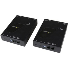 StarTech.com HDMI Video Over IP Gigabit LAN Ethernet Extender Kit - 1080p