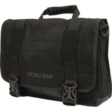 "Mobile Edge ECO Carrying Case (Messenger) for 15"" Notebook, MacBook Pro, Tablet, iPad, Ultrabook - Black"