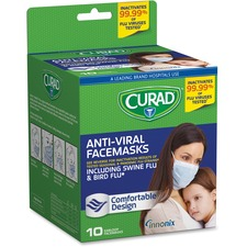 MII CUR384S Medline Curad Antiviral Medical Face Mask MIICUR384S